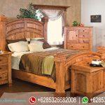 Furniture Jepara Set Kamar Tidur Terbaru American Style KT-030