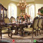 Furniture Meja Kursi makan Set Jepara Klasik Mewah Terbaru MM-053