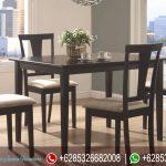 Meja Makan Set Jepara Minimalis Terbaru Coaster MM-063