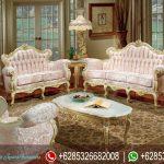 Set Sofa Ruang Tamu Ukir Mewah Terbaru Victoria Series SRT-003