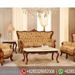 Sofa Tamu Set Jepara Klasik Mewah Terbaru Victoria Series SRT-005