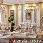 Sofa Ruang Tamu Set Jepara Klasik Mewah Terbaru French Series SRT-008