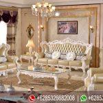 Set Sofa Ruang Tamu Ukir Klasik Mewah Terbaru French Series SRT-009