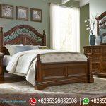 Mebel Jepara Set Kamar Tidur Elegan Modern Terbaru American Style KT-040