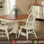 Furniture Meja Kursi Makan Minimalis Tiffany Terbaru MM-079