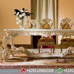 Set Meja Kursi Makan Jepara Mewah Terbaru Minerva MM-109