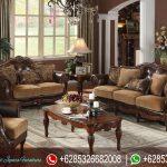 Set Sofa Tamu Mewah Terbaru Vintage Cottage SRT-034