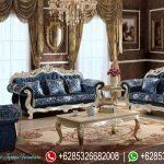 Set Sofa Ruang Tamu Klasik Mewah Terbaru Italian Style SRT-038