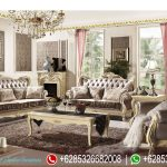Sofa Ruang Tamu Klasik Mewah Terbaru French Style SRT-053