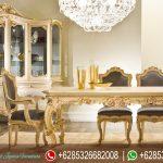 Meja Kursi Makan Mewah Victorian Terbaru MM-180