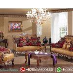 Sofa Tamu Mewah Jepara Klasik Terbaru SRT-088