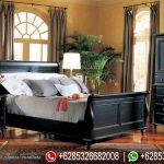 Tempat Tidur Set Minimalis Hitam Terbaru Montana  Series KT-052
