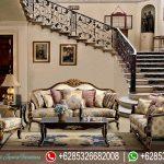 Set Sofa Ruang Tamu Mewah Klasik Formal Livingroom SRT-104