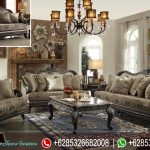 Sofa Ruang Tamu Vintage Jati Mewah Terbaru SRT-116