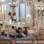 Set Kursi Makan Antique Model European Classic Mewah Terbaru MM-205