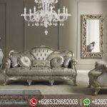 Set Sofa Tamu Klasik Silver Mebel Jepara Mewah Terbaru SRT-132