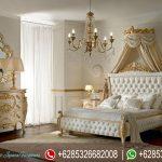 Tempat Tidur Set Klasik Italian Style Ukiran Mebel Jepara Mewah Terbaru KT-144