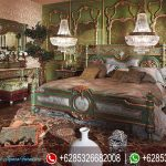 Set Tempat Tidur Antique Vintage Klasik Mewah Terbaru Carmen KT-199