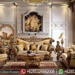 Kursi Sofa Tamu Set Jati Antique Mewah Murah Terbaru Italian Style SRT-180