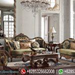 Set Kursi Sofa Tamu Victoria Natural Jati Ukiran Klasik Mewah Terbaru Renaisance SRT-187