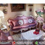 Mebel Jepara Sofa Tamu Mewah Antique Klasik Duco Murah Terbaru Surfinia SRT-229