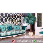Sofa Ruang Tamu Mewah Klasik Ukir Jepara Murah Terbaru Santana SRT-218