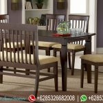 Set Meja Makan Minimalis New Design Murah MM-035