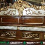 Tempat Tidur Ukir Peluru Jati DP-005