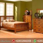Furniture Jepara Set Kamar Tidur Minimalis Terbaru Mission Style KT-021