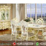 Set Meja Kursi Makan Jepara Mewah Victorian MM-058