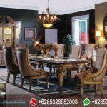 Set Kursi Meja Makan Ukir Mewah Terbaru MM-061