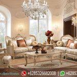 Meja Kursi Sofa Ruang Tamu Klasik Mewah Terbaru SRT-001