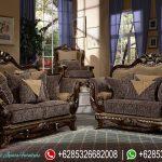 Sofa Tamu Set Jepara Klasik Mewah Terbaru SRT-002