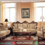 Sofa Tamu Set Bordeaux Mewah Terbaru Germain Series SRT-010