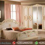 Set Kamar Tidur Jepara Ukir Mewah Terbaru Italian Style KT-086