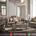 Set Sofa Tamu Mewah Klasik Terbaru Victorian SRT-037