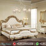 Kamar Tidur Set Mebel Jepara Mewah Terbaru Klasik Yatak Odası KT-103