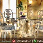 Meja Makan Ukir Mewah Terbaru Luxury MM-165