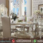Meja Kursi Makan Set Ukiran Mewah Terbaru Victorian Series MM-173
