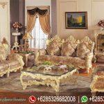 Sofa Tamu Set Ukir Mebel Jepara Mewah Terbaru Italian Style SRT-058
