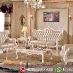 Sofa Tamu Ukir Klasik Mewah Terbaru SRT-061