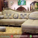 Set Sofa Tamu L Mewah Terbaru Baroque SRT-079
