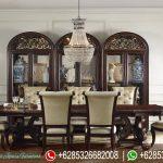 Meja Kursi Makan Set Ukiran Mewah Murah Terbaru Germain Style MM-146