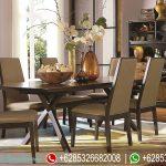 Meja Kursi Makan Set Jepara Terbaru Fresco MM-086