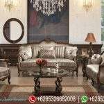 Sofa Tamu Mewah Klasik Victorian Terbaru SRT-087