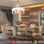 Set Meja Makan China Luxury Furniture MM-127