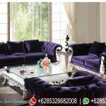Sofa Tamu Set Mewah Klasik Model Eropa Silver Terbaru SRT-098