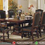 Set Kursi Makan Morrocan Jati Natural Klasik Modern Mewah Terbaru MM-202