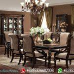 Kursi Makan Set Klasik Modern Chandelier Mewah Terbaru MM-226