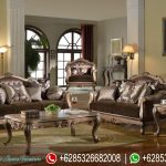 Kursi Sofa Tamu Jati Antique Model Klasik Mewah Terbaru Dallas SRT-143